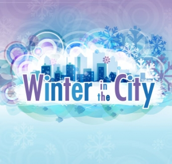 Winter in the city logo