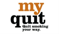Logo for Myquit.ca. Quit smoking your way.