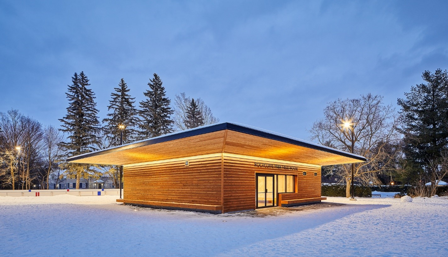Rockcliffe Park Fieldhouse, 270 Springfield Road in Public Places and Civic Spaces | category
