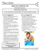 Keep Your Teeth for Life - Dental health for seniors