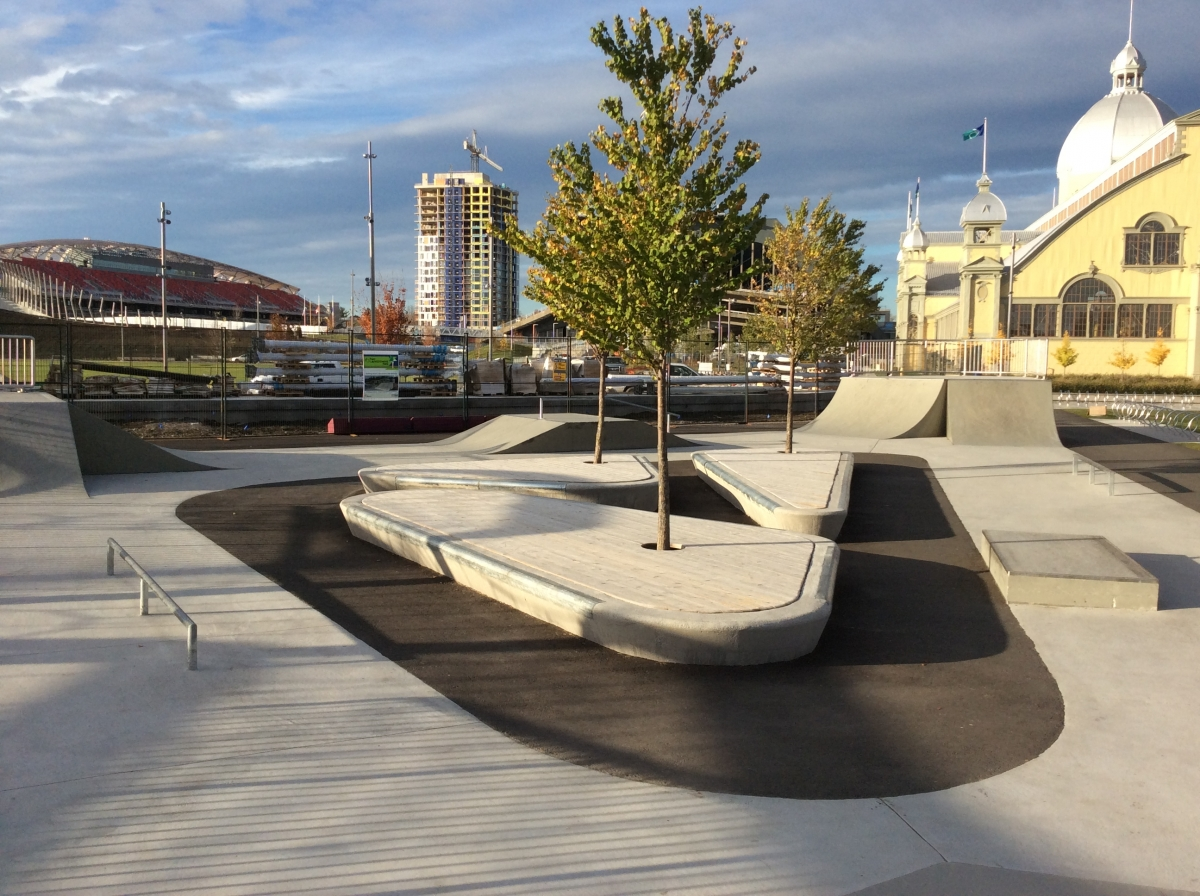Skateboard Ramps at Lansdowne Park