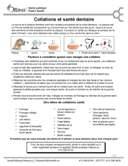 Collations et santé dentaire