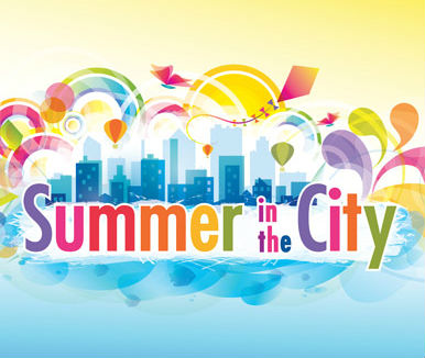 Summer in the city graphic