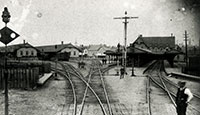 Ottawa's First Union Station, built 1880. PAC C 4848