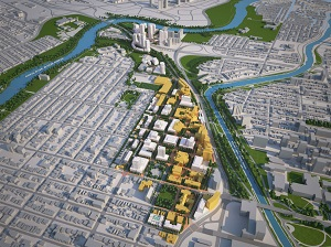 University of Ottawa Campus Master Plan. Visions and master plans; award of merit.