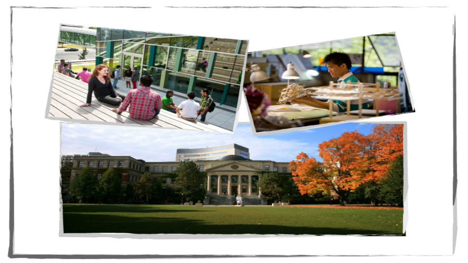 Several internationally recognized high-quality post-secondary institutions awaiting you.