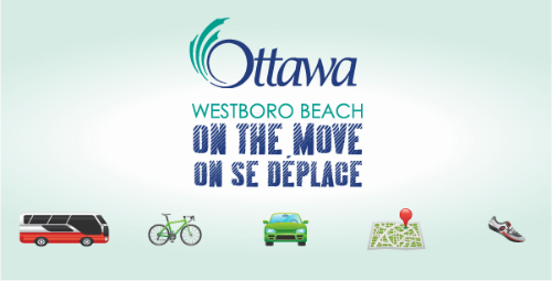 Westboro Beach on the Move provides information about public transit, cycling, car sharing & carpooling, community mapping, and walking in the Westboro Beach community