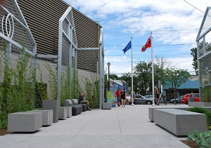 Winston Square. Public places and civic spaces; award of merit.