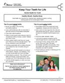 Keep Your Teeth For Life - dental health for youth